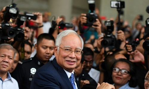 $800,000 spent in one day on Malaysia ex-Prime Minister's cards, court hears