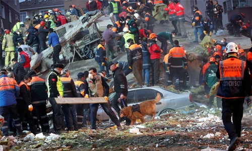 Turkey building collapse toll rises to 21