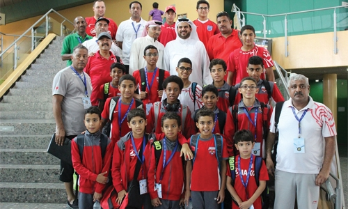 Bahrain bag 14 medals on 3rd day