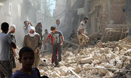 UN carries out first humanitarian airdrop in Syria