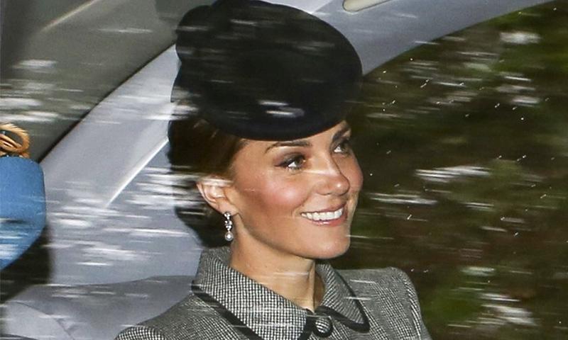 Kate Middleton wears Bahrain Pearl Drop earrings