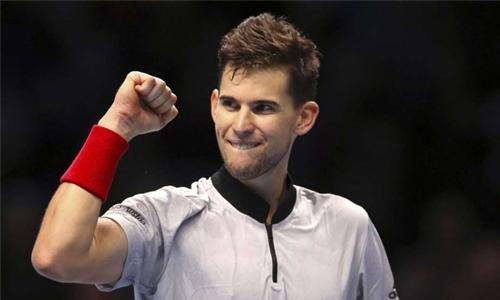 Thiem keeps ATP Finals hopes alive with Nishikori win