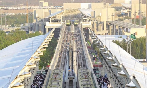 Al Mashaaer Metro 'transported over one million pilgrims in 45 hours'