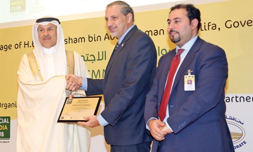 Governor opens Social Media Masters Forum in Bahrain