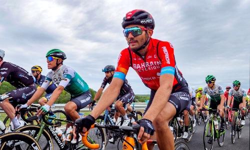 Bahraini cyclist Madan makes historic debut