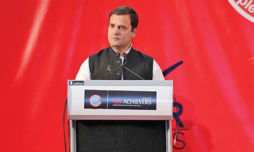 BJP hits back at Congress on Rahul Gandhi's charges against Govt