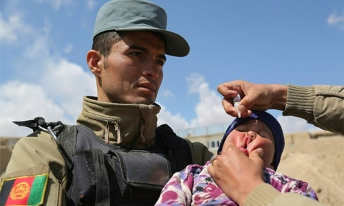Afghanistan launches polio drive in former IS areas