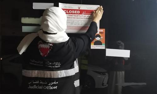 Five more restaurants in Bahrain closed for violating COVID health protocols