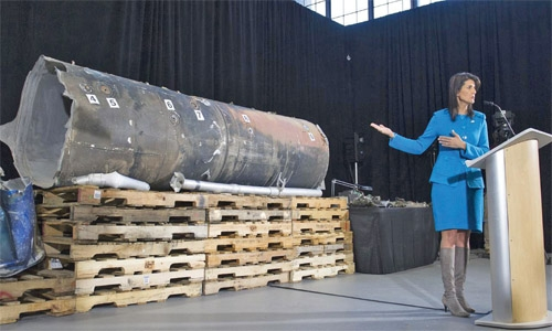 Iran says USA  evidence on Yemen missiles is 'fabricated'