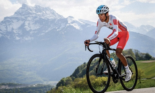 Bernal wins stage three time trial