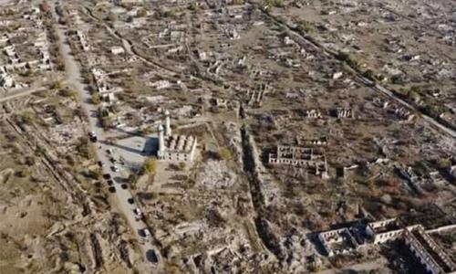 Azerbaijan is restoring its territories liberated from Armenian occupation