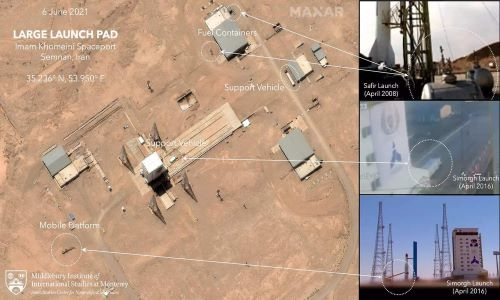Iran likely had failed rocket launch, preparing for another