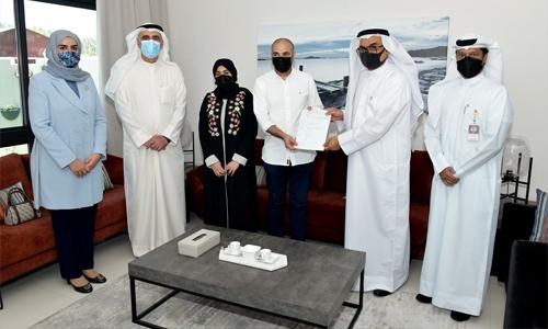 AIB completes first handover in Danat Al Baraka Project