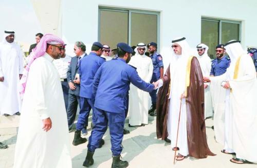 Linking power grid to Hawar