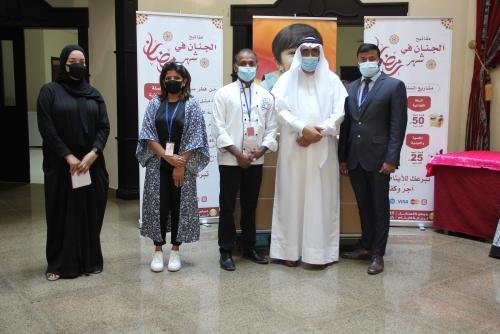 Al Sanabel Orphan Care Society receives Ramadan treat from SSP Bahrain