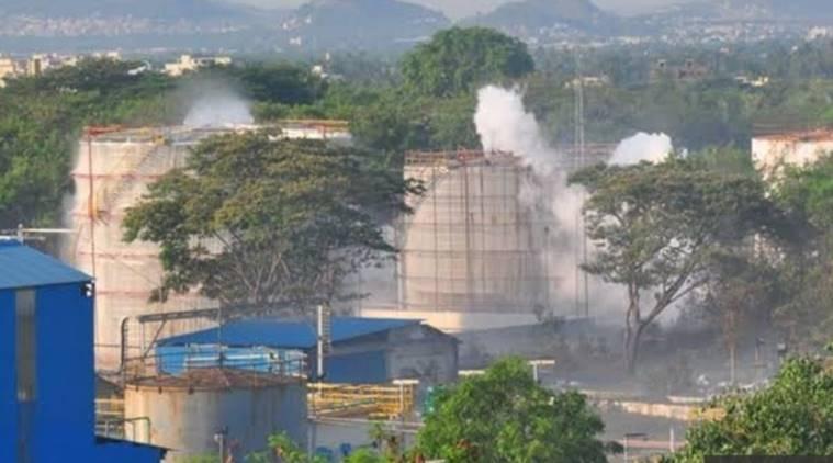 Toxic gas leak near Visakhapatnam