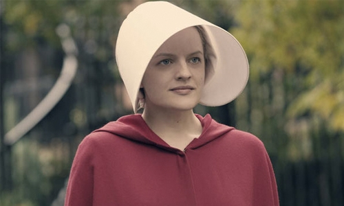 Moss wins actress Emmy for 'The Handmaid's Tale'