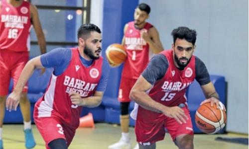 Bahrain basketball team prepares for GBA event