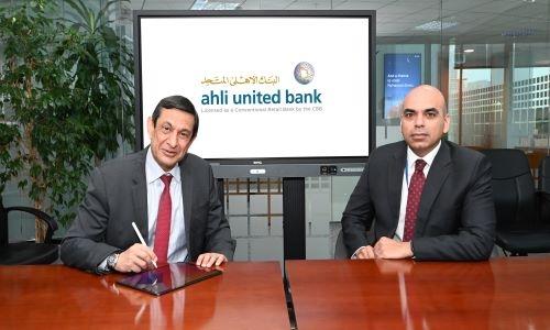 Ahli United Bank inks deals with Sharaf DG & Talabat
