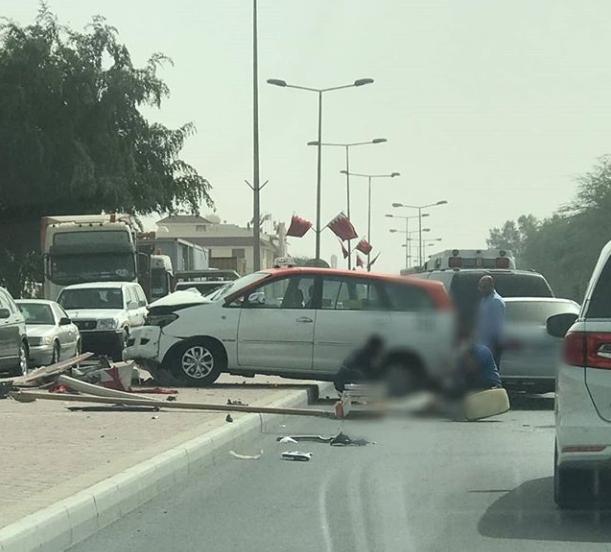 Breaking News: Major traffic accident in Janabiya