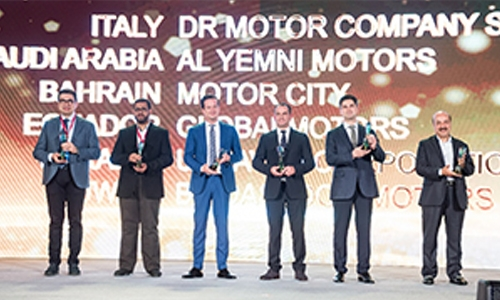 Chery Bahrain wins top market development award