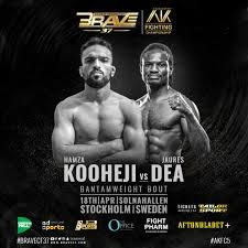 Kooheji to represent Bahrain at Brave 37