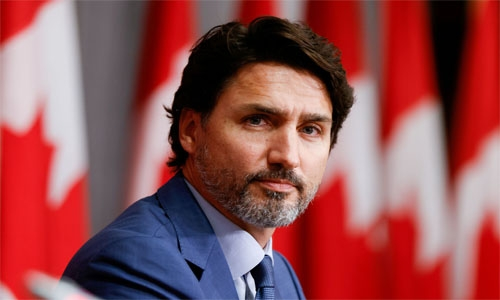 Canadian charged with assault for throwing stones at PM Justin Trudeau