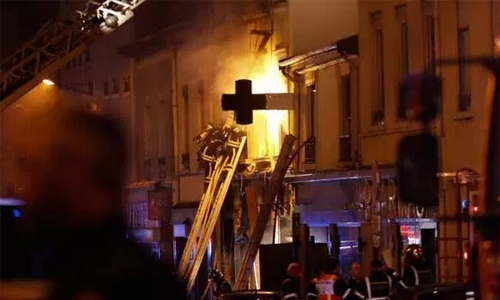 Mother and child die in French fire