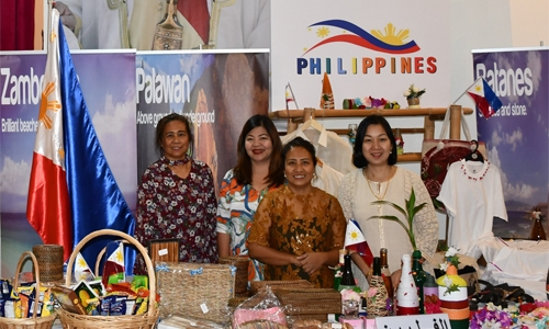 Philippine Embassy in Bahrain participated in the International Embassies Bazaar