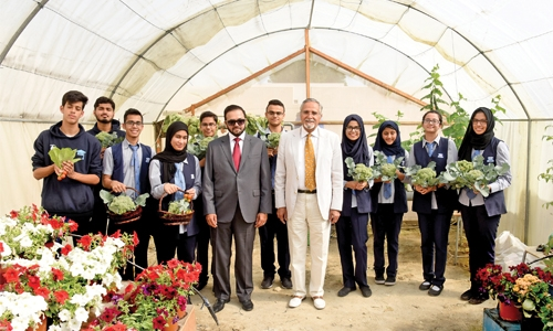 Al Noor International School celebrates crop harvest