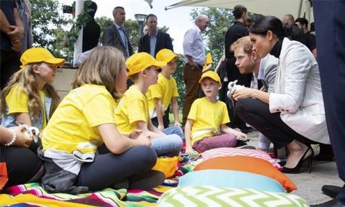 Pregnant Meghan takes break from Australia royal tour