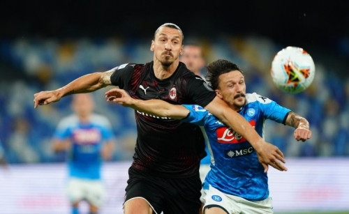 Napoli and AC Milan play out draw in Serie A classic Rome