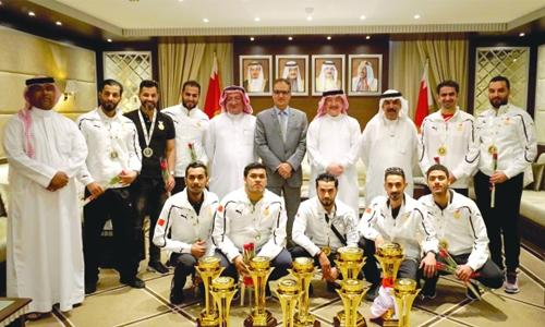 Bahrain claim second in GCC Championships