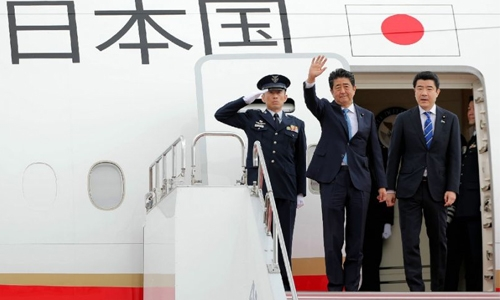 Japan PM on Tehran mission