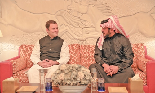 India ready to host Bahrain sporting events, says Gandhi