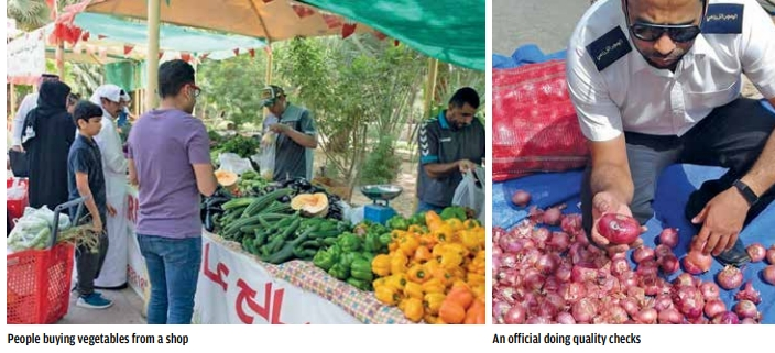Bahrain gets 100 varieties of fruits and vegetables from 130 countries