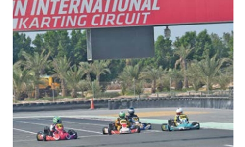 Lewis Smith excel in Bahrain Rotax Challenge