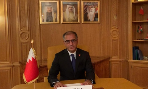 Bahrain supports peace efforts in Afghanistan