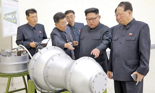 North Korea nuclear site collapsed