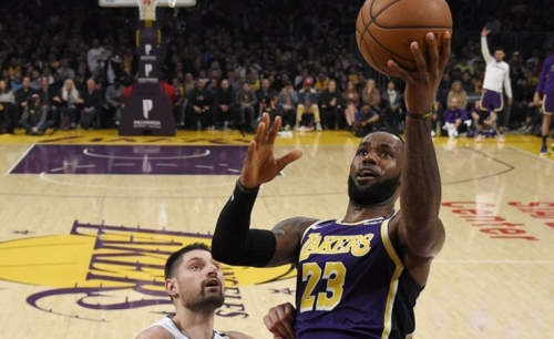 LeBron will not wear social justice message on Lakers jersey