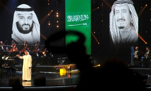 Saudi 'Paul McCartney' in rare concert