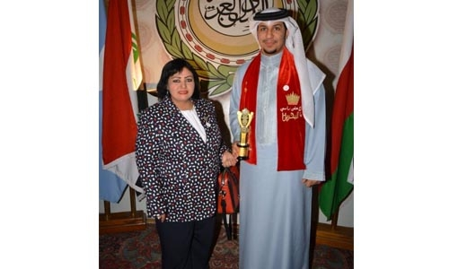 Arab honour for Bahraini volunteer