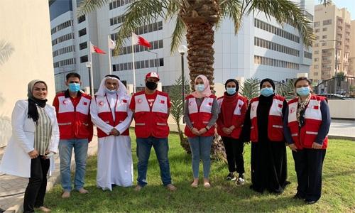 Bahrain Red Crescent Society volunteers undergo self-development training