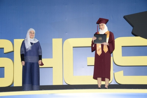 Shaikha Hessa Girls' School holds graduation ceremony