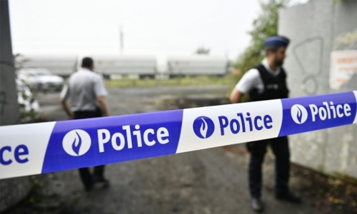 Explosion at Brussels crime lab