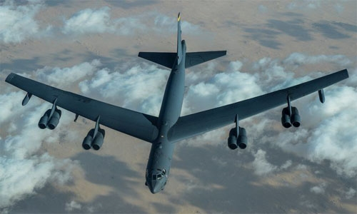 US B-52 bombers fly over Middle East amid Iran tensions