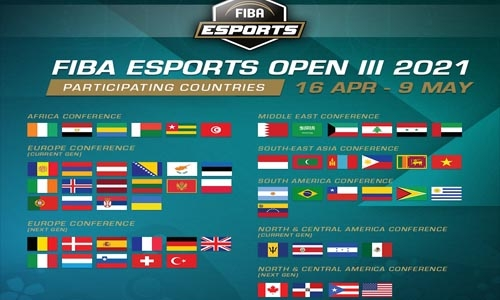 Bahrain to compete in FIBA Esports Open