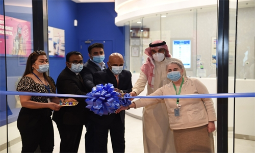 Bahrain Financing Company opens branch at Mall of Dilmunia