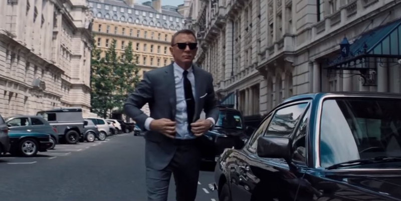 Two villains: First trailer for new James Bond film released