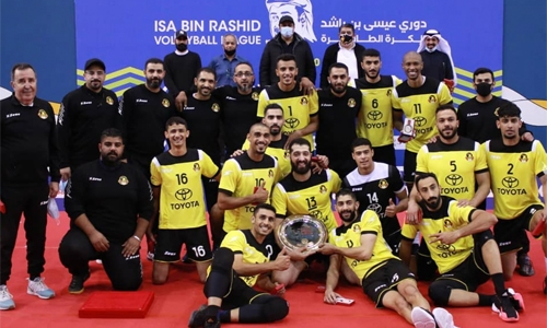 Al Ahli crowned volleyball champions